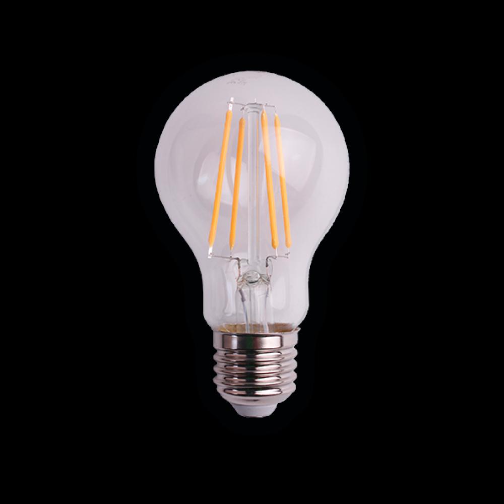 Светодиодная (LED) лампа BRAWEX ФИЛАМЕНТ 8Вт яркий свет A60 Е27