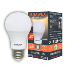 Классическая светодиодная (LED) лампа 13Вт мягкий свет А60 Е27