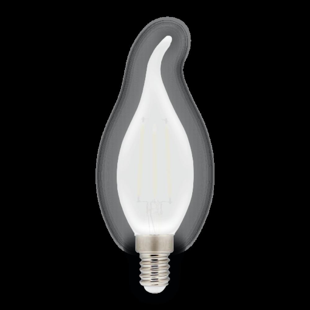 Светодиодная (LED) лампа BRAWEX ФИЛАМЕНТ (Frost) 5Вт яркий свет B35Q Е14