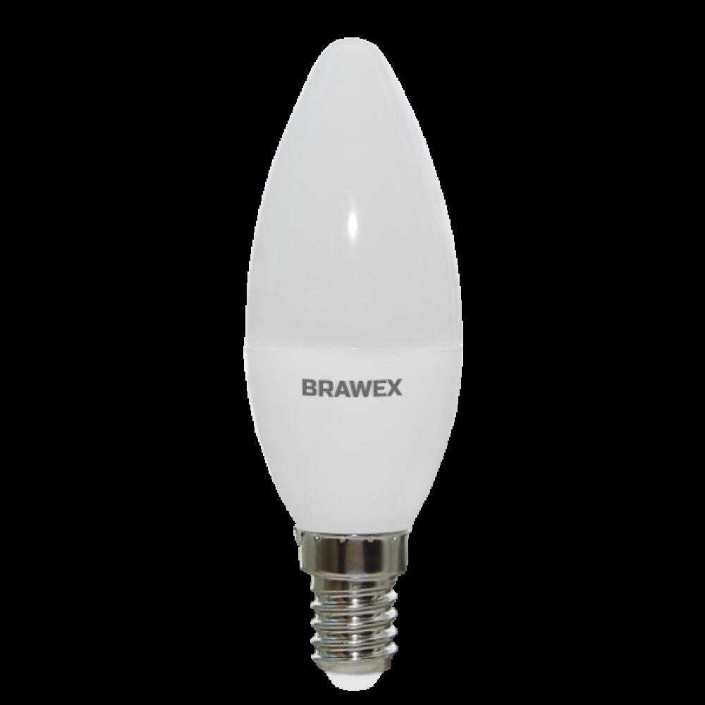 Светодиодная (LED) лампа 7Вт мягкий свет B35 Е14
