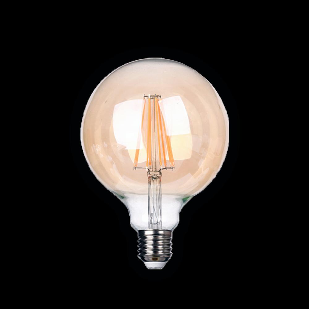 Светодиодная (LED) ретро лампа BRAWEX ФИЛАМЕНТ 8Вт мягкий свет G125 Е27
