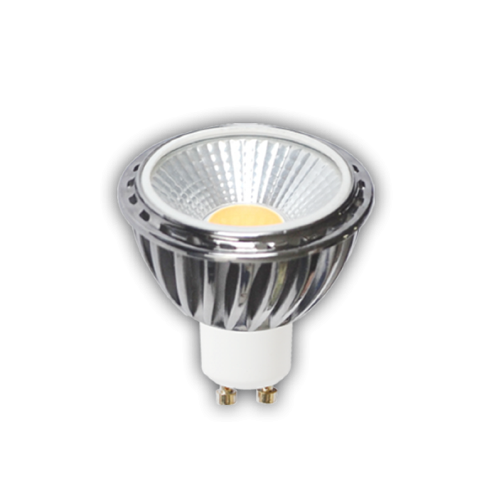 Точечная светодиодная (LED) лампа, угол 60°, 8Вт мягкий свет PAR16 GU10