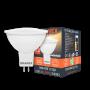 Точечная светодиодная (LED) лампа 7Вт мягкий свет MR16 GU5.3
