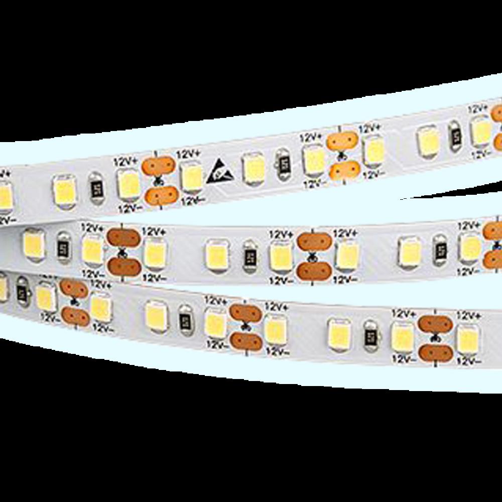 Светодиодная лента: 9.6Вт, 24В, 120шт/м, 2835, яркий свет IP20