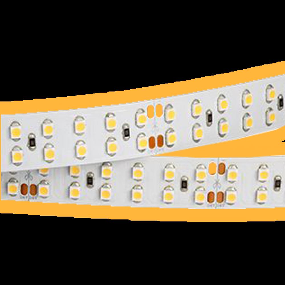Светодиодная лента: 24Вт, 24В, 240шт/м, 2835, мягкий свет IP20