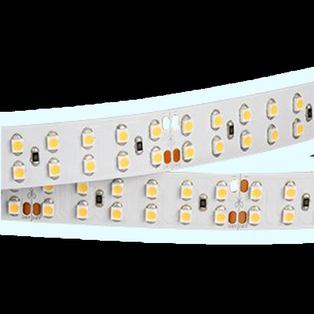 Светодиодная лента: 24Вт, 24В, 240шт/м, 2835, яркий свет IP20