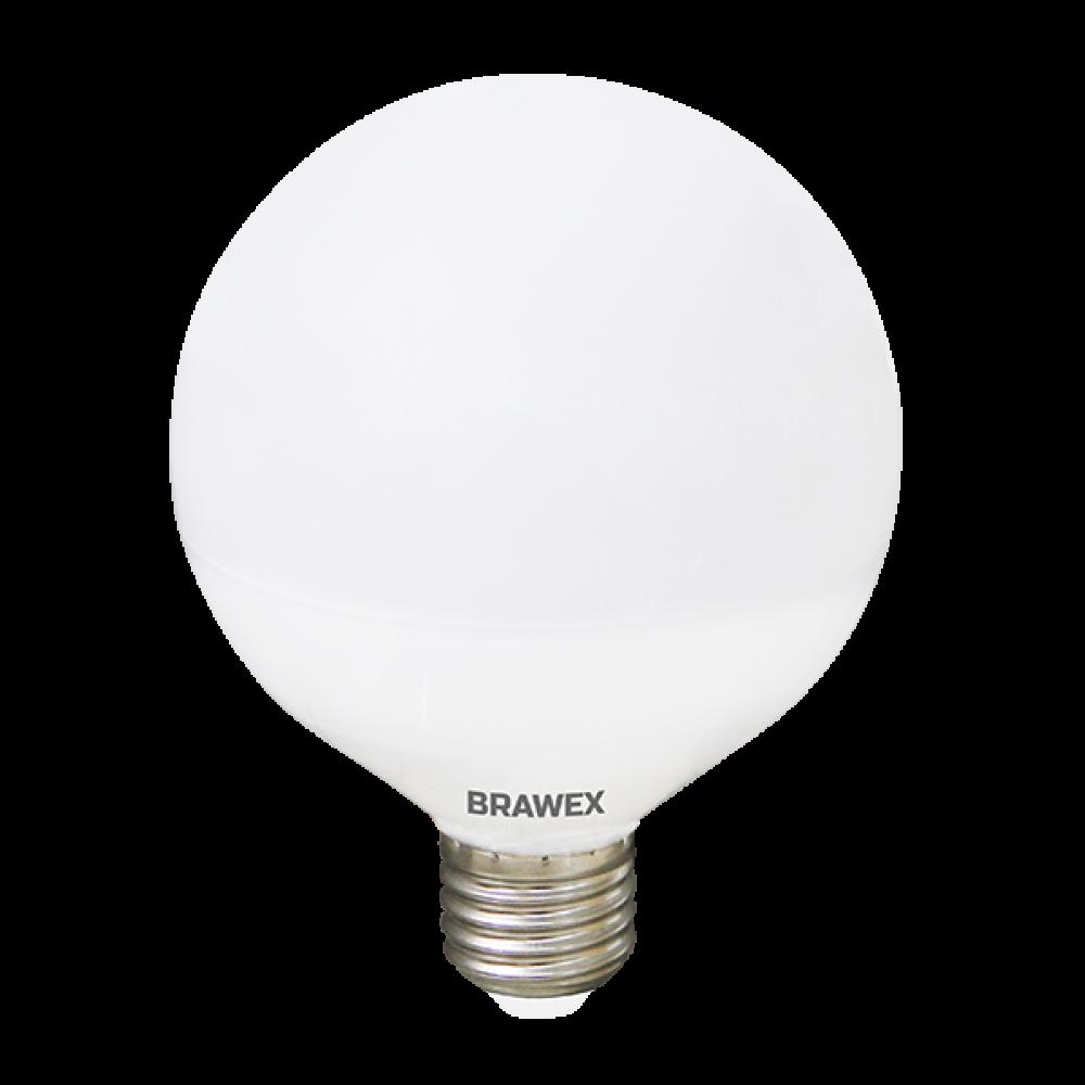 Светодиодная (LED) лампа 12Вт мягкий свет G95 Е27